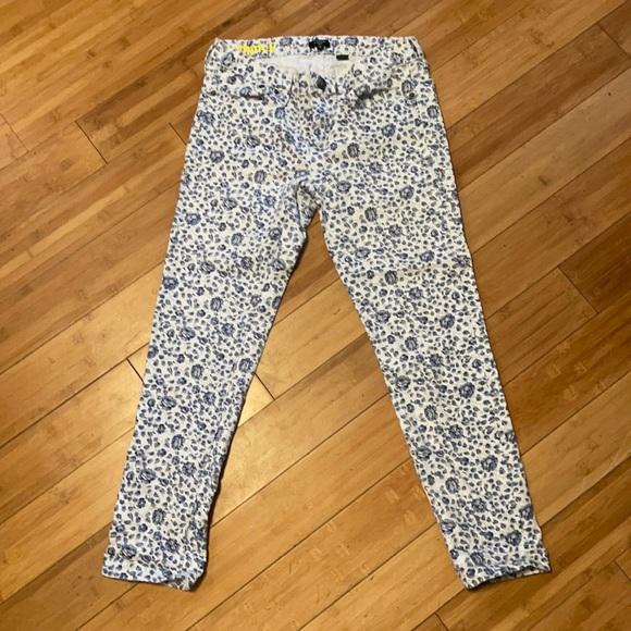 J. Crew Stretch Crop Jeans Size 28